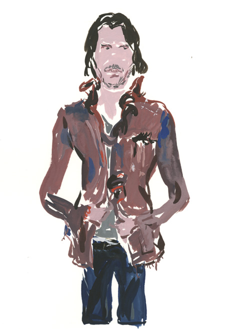Greg wearing the Mistake Jacket